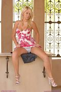 alison angel pink dress up skirt pics