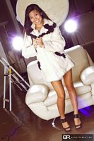 beauty roxx jacky in her white jacket