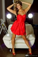 beauty roxx mickey red dress