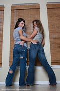 blueyed cass with girlfriend tight jean pics
