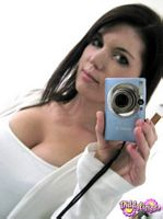 diddylicious hot white tank top self pics