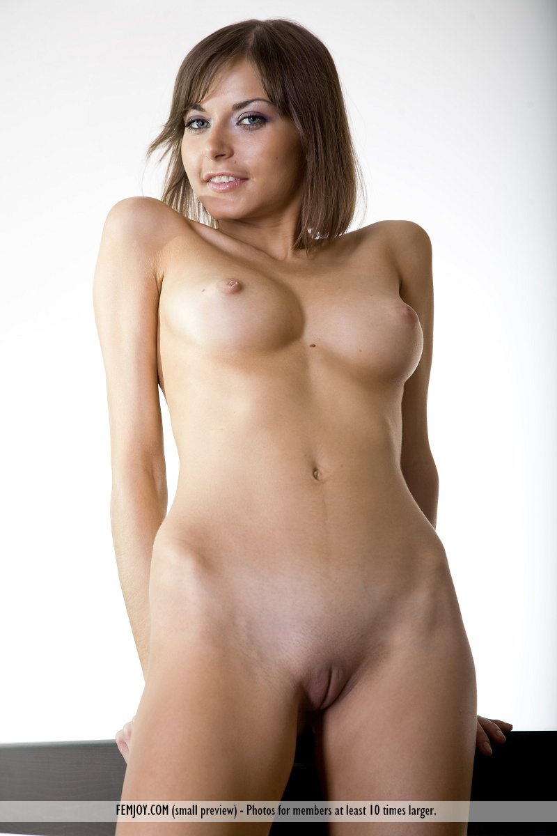 Young naked glamour models