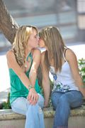 ftv girls rilee and sara kissing in public