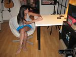 ivy black hot short skirt teen pics