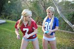 lia 19 and alison angel in boy shorts