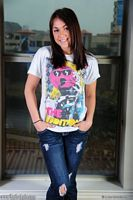 taylor lain t-shirt and jeans