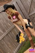 hot tiny blonde teen cowgirl tiffany lovelle