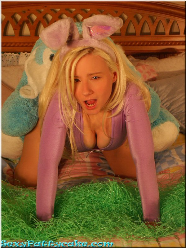 Sexy Pattycake Purple Bunny Costume Foto 50